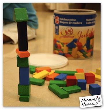 HEROS Blocks tower