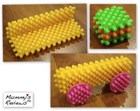 Playskool Clipo Figure Bucket models