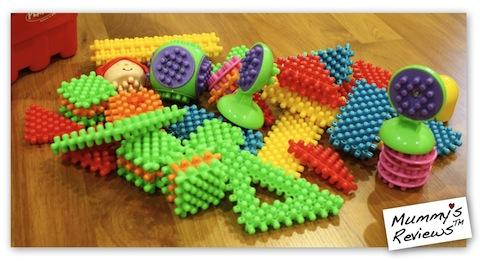 Playskool Clipo Figure Bucket pieces