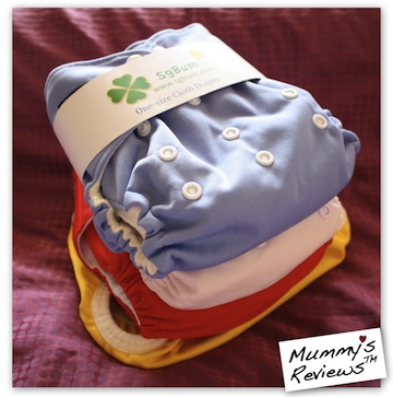 SgBum Cloth Diaper Stash