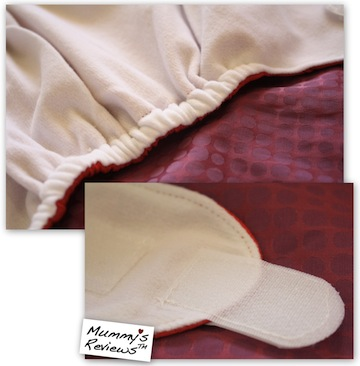 SgBum Grande Suede Cloth Diaper close-up