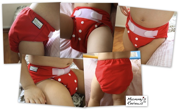 SgBum Grande Suede Cloth Diaper different views