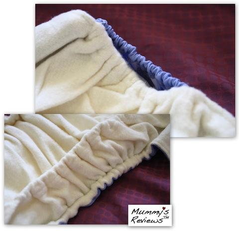 SgBum Naturelle Bamboo Cloth Diaper close-up