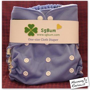 SgBum Naturelle Bamboo Cloth Diaper