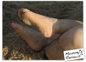 Vee Turns 2.5 Years Old - dislikes sand