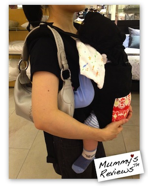 Mummy's Reviews - Boba Baby Carrier 3G shoulder strap holders