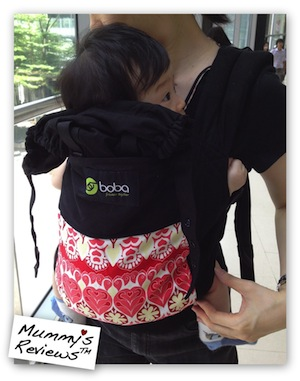 Mummy's Reviews - Boba Baby Carrier 3G