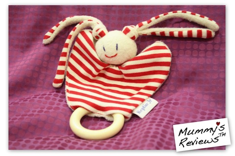 Mummy s Reviews - Keptin Jr Organic Cotton Teether. Teether 9f5ede578f49