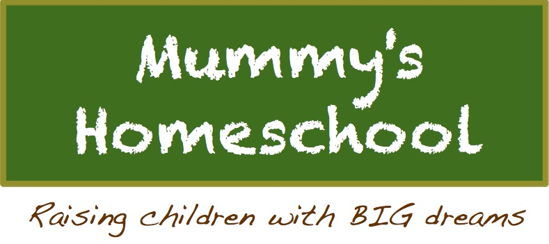 Mummy's Homeschool logo with tagline