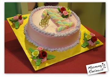 Mummy's Reviews - Jae 1 year old birthday cake
