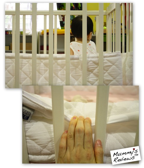 Mummy's Reviews - Airwrap Deluxe in cot 2
