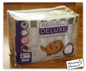 Mummy's Reviews - Airwrap Deluxe packaging
