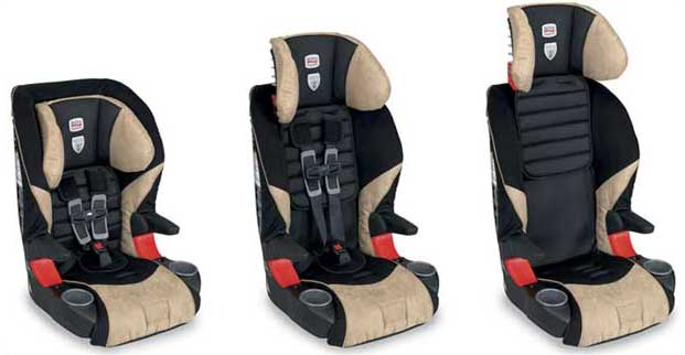 Britax Frontier 85 booster car seat adjustment