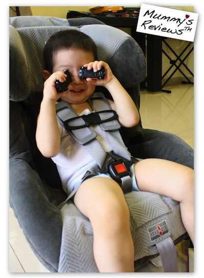Mummy's Reviews - Britax Boulevard car seat